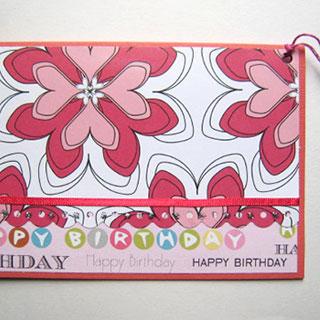 [グリーティングカード]お誕生日*Apricotton