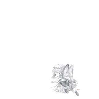 ポストカード【妖精】*紅