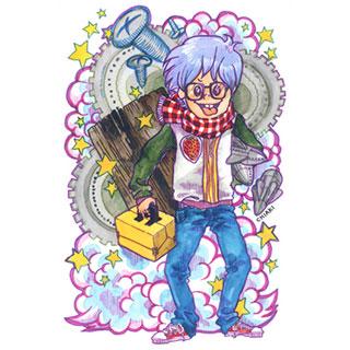 ポストカード【発明オタク】*chiaki*美術館