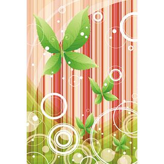 ポストカード【植物の蝶 其の弐】*D4STUDIO
