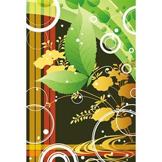 ポストカード【植物の蝶 其の参】*D4STUDIO