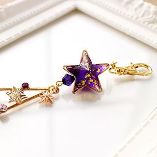 星空観察入門セットキーホルダー・紫 * DayBreak