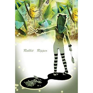 ポストカード【Rabbit Ripper I】*みさぎ陽子