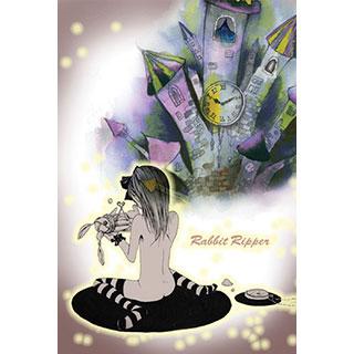 ポストカード【Rabbit Ripper II】*みさぎ陽子