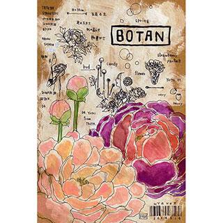 ポストカード【BOTAN】* ETSU