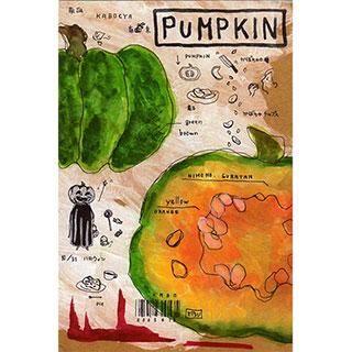 ポストカード【PUMPKIN (かぼちゃ)】*ETSU