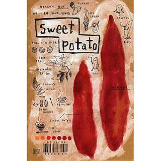 ポストカード【Sweet Potato (さつまいも)】*ETSU