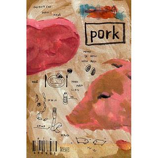 ポストカード【Pork (ぶたにく)】*ETSU