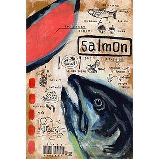 ポストカード【Salmon (しゃけ)】*ETSU
