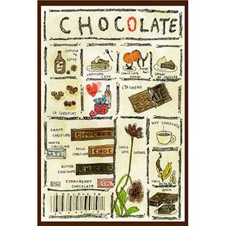 ポストカード【CHOCOLATE】* ETSU