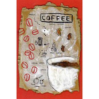 ポストカード【COFFEE】*ETSU