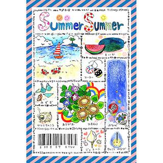 ポストカード【summer summer】* ETSU