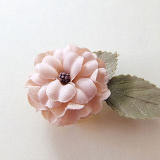 お花の帯どめ (薄ピンク) * fledelee