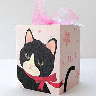 ギフトボックスカード【さくら】* Haginko