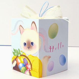 ギフトボックスカード【卵 ラグドール】* Haginko