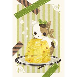 ポストカード【猫ゼリー】* ひよま