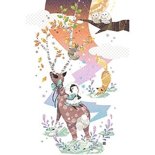 ポストカード【秋冬】* ひよま