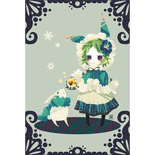 ポストカード【ウサギ】* ひよま