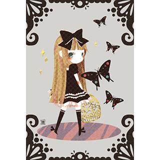 ポストカード【チョウ】* ひよま