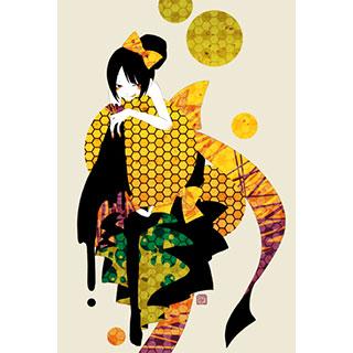 ポストカード【蜜】* ひよま