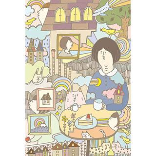 ポストカード【カフェ日和】* 金子友香