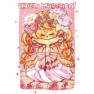ポストカード【HappyMarriage!】* Kaz:Chiko
