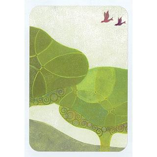 ポストカード【Tree】* きむらともこ
