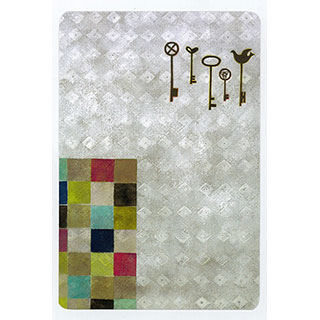 ポストカード【Key (鍵)】*きむらともこ
