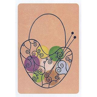 ポストカード【Woolen yarn ball (毛糸玉)】*きむらともこ