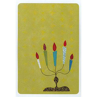 ポストカード【Candle (ろうそく)】*きむらともこ