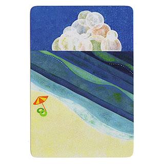 ポストカード【Sea (海)】*きむらともこ