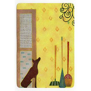 ポストカード【Yellow room (黄色の部屋)】*きむらともこ