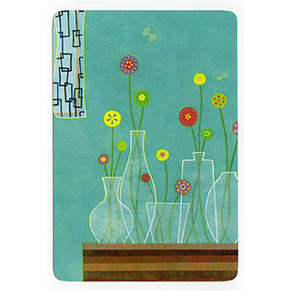 ポストカード【Blue room (青色の部屋)】*きむらともこ