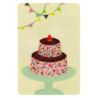 ポストカード【Dessert (デザート)】*きむらともこ