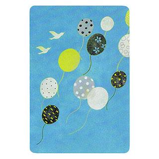 ポストカード【Balloon (風船)】*きむらともこ
