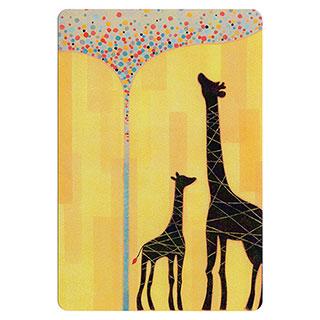 ポストカード【Giraffe (キリン)】*きむらともこ