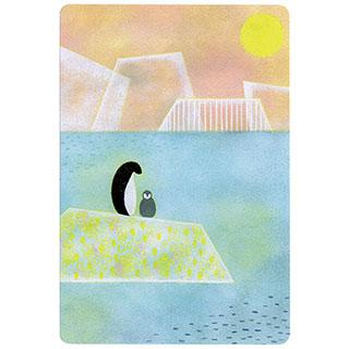 ポストカード【Penguin (ペンギン)】*きむらともこ