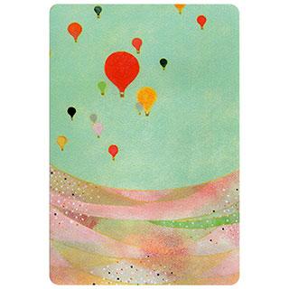 ポストカード【Balloon (気球)】*きむらともこ