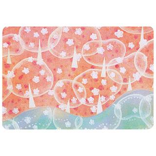 ポストカード【Sakura (桜)】*きむらともこ