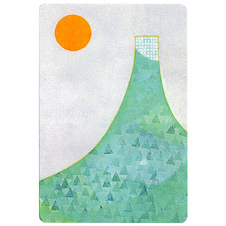 ポストカード【Fuji (富士山)】*きむらともこ
