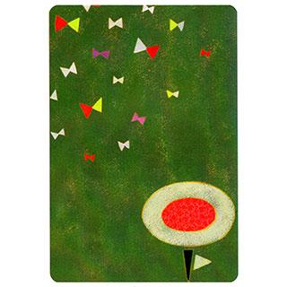 ポストカード【Small butterfly (小さな蝶)】*きむらともこ