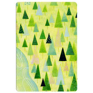 ポストカード【Coniferous forest (針葉樹林)】*きむらともこ