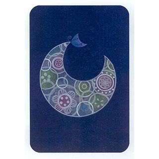 ポストカード【Moon】*きむらともこ