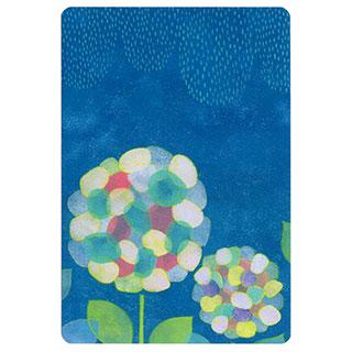 ポストカード【hydrangea (あじさい)】*きむらともこ