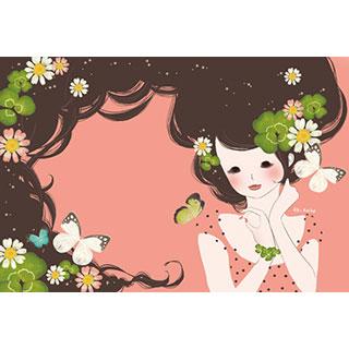ポストカード【野花】*小池亜希
