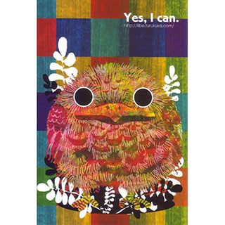 ポストカード【彩鳥 -irodori-】*LIBE