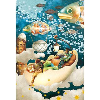ポストカード【謎の卵をめぐる冒険】*LIBE
