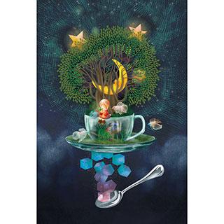 ポストカード【a cup of world】*LIBE