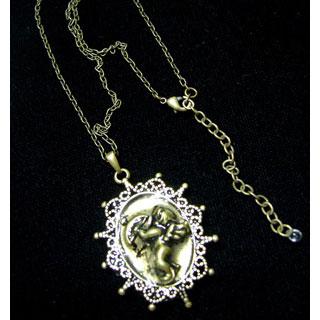 樹脂ネックレス・天使*Luna Antique*