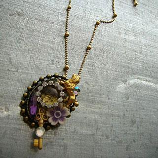 プードル女王のネックレス*Luna Antique*